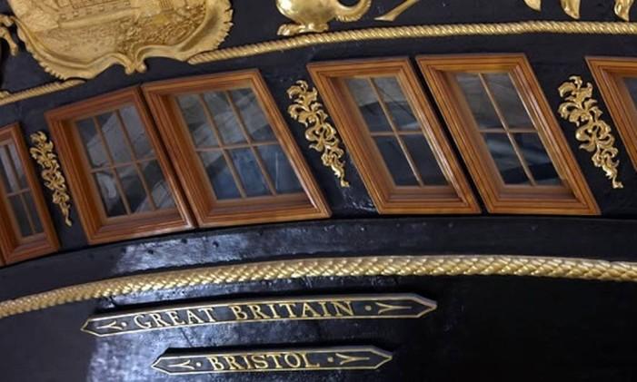 Museu em Bristol vai celebrar o gênio da engenharia naval Isambard Kingdom Brunel Foto: ssgreatbritain.org