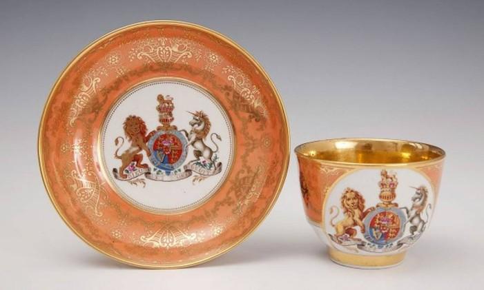 Museum of Royal Worcester: coleções de porcelana do século XVIII Foto: museumofroyalworcester.org