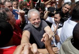 O ex-presidente Luiz Inácio Lula da Silva, durante evento no Rio de Janeiro Foto: Ricardo Moraes / Reuters
