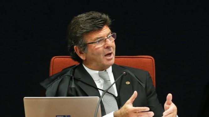 O presidente do Tribunal Superior Eleitoral, ministro Luiz Fux Foto: Ailton de Freitas / Agência O Globo/24-10-17