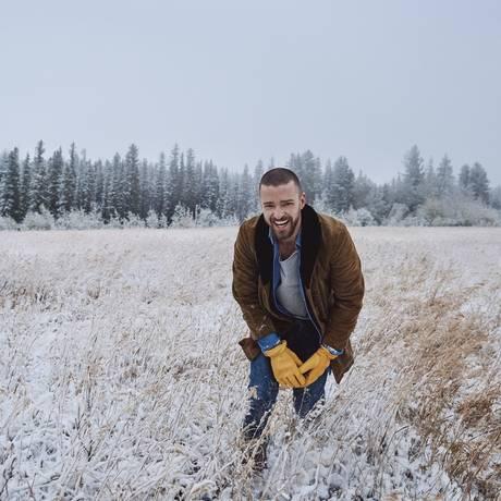 O cantor Justin Timberlake, que lançou o álbum 'Man of the woods' Foto: Divulgação