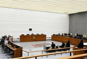 A corte especial no Supremo Tribunal de Justiça Foto: Gustavo Lima / Divulgação / STJ