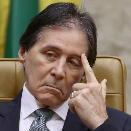 O presidente do Senado, Eunício Oliveira, da sessão de abertura do Ano Judiciário -01/02/18 Foto: Jorge William / Agência O Globo