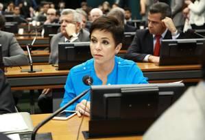 Deputada Cristiane Brasil na mira da justiça Foto: Agência O Globo