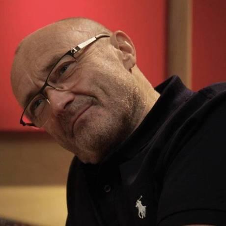 Phil Collins, que faz sua primeira turnê brasileira e se apresenta dia 22 no Maracanã Foto: Divulgação