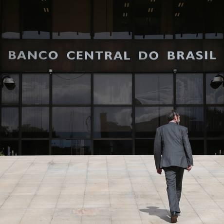 Sede do Banco Central do Brasil, em Brasília. Foto Michel Filho/Agência O Globo