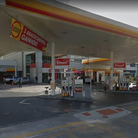 Confusão em posto da Avenida Rebouças, em Pinheiros, terminou com a morte de duas pessoas Foto: Reprodução/Google Maps