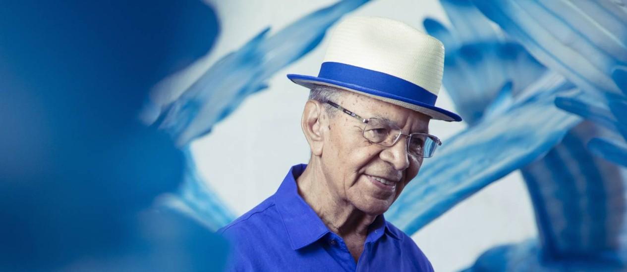Monarco já tem 70 anos de Portela Foto: Leo Martins / Agência O Globo
