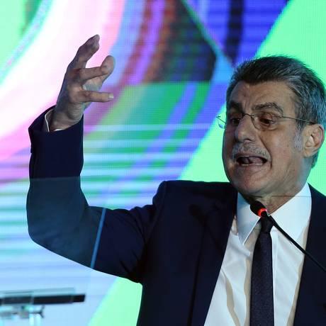 O senador Romero Jucá, em evento. 19/12/2017 Foto: Jorge William / Agência O Globo