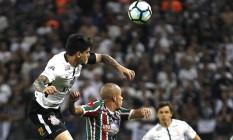 Fluminense estreia contra o campeão Corinthians no Brasileiro de 2018 Foto: Nelson Perez/Fluminense F.C.