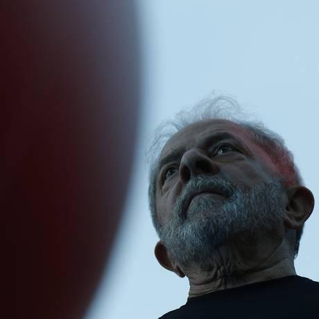 O ex-presidente Luiz Inácio Lula da Silva Foto: Edilson Dantas / Agência O Globo
