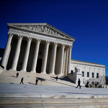 O prédio da Suprema Corte dos Estados Unidos Foto: Eric Thayer / Reuters/ 19-1-18