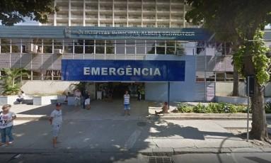 O hospital onde pai e mãe foram atendidos Foto: Google Street View / Reprodução