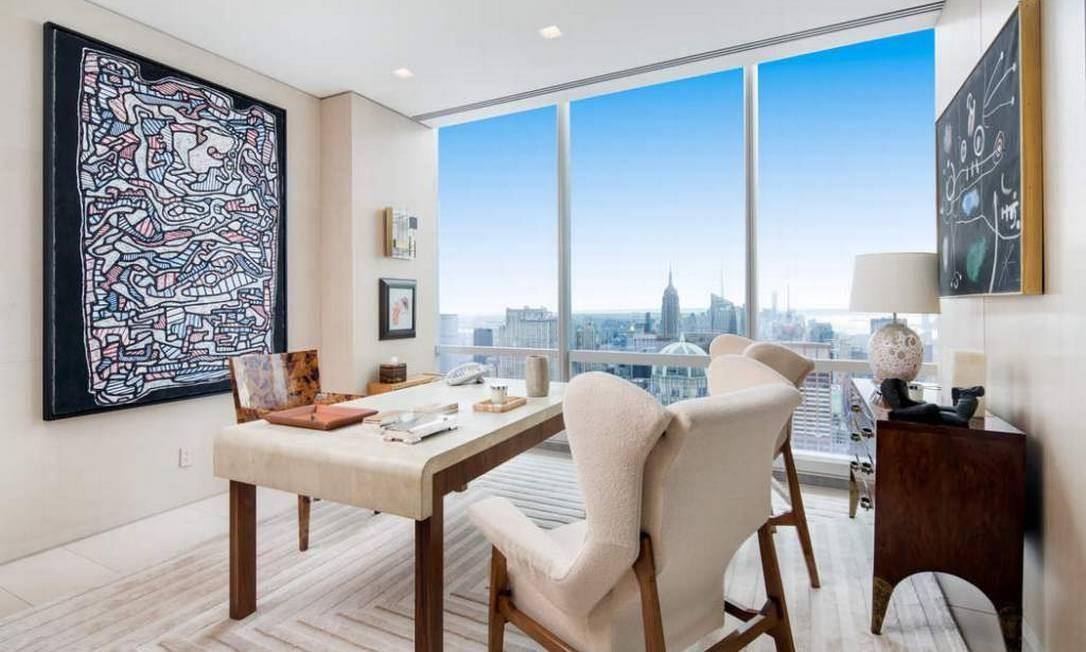 Ele está localizado na West 57th Street, em Manhattan Divulgação / Sotheby's International Realty