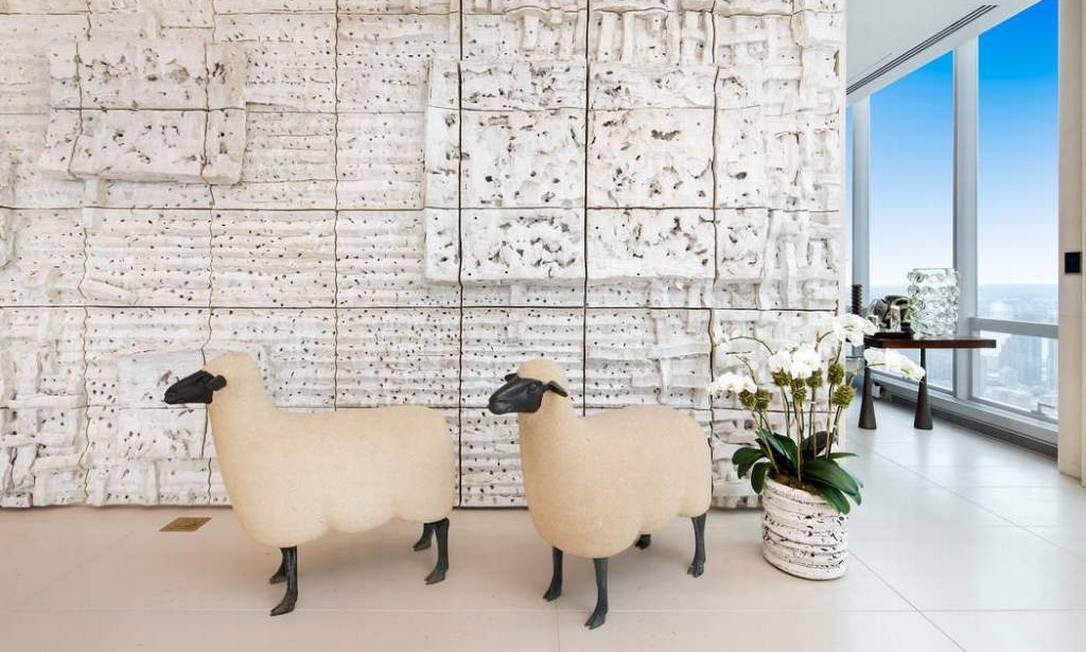 O imóvel foi comprado em 2014 por US$ 55 milhões e foi totalmente renovado Foto: Sotheby's International Realty / Sotheby's International Realty