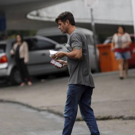 O ator Dado Dolabella já havia sido preso em agosto por não ter pago pensão alimentícia Foto: Domingos Peixoto / Agência O Globo (18/08/2017)