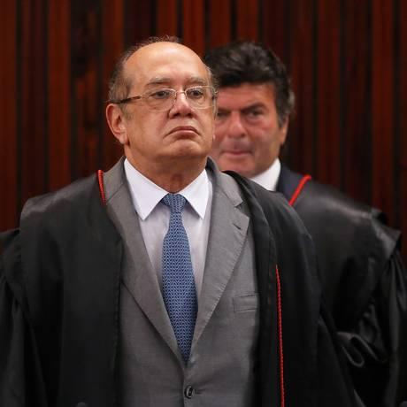 Ministro Gilmar Mendes Foto: Ailton de Freitas / Agência O Globo