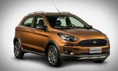 A altura em relação ao solo aumentou, mas a Ford não releva quanto Foto: Divulgação