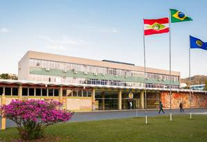 O prédio da Universidade Federal de Santa Catarina Foto: Henrique Almeida / Agecom / Reprodução