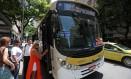 Ônibus da linha 581, que passava pelo Túnel Rebouças, não circula mais, assim como o 582 Foto: Márcio Alves/27-01-2016 / Agência O Globo