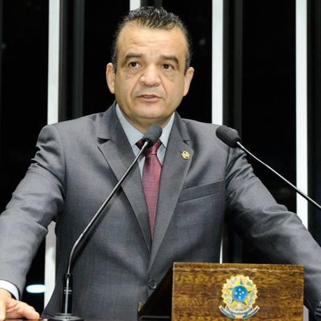 O senador Pastor Bel (PRTB-MA), suplente do senador Edison Lobão (PMDB-MA) Foto: Divulgação/Agência Senado