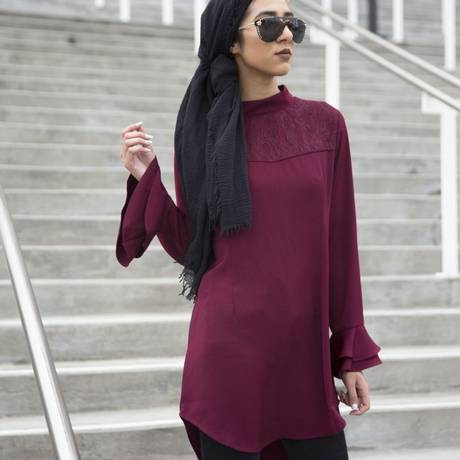 Hijab da nova linha da Macy's, voltada para muçulmanas Foto: Divulgação