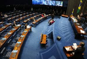 Plenário do Senado Federal Foto: Givaldo Barbosa / Agência O Globo