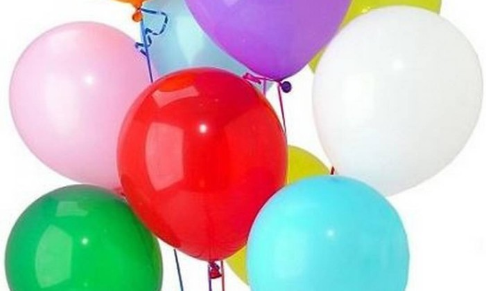 Balão de gás Hélio Foto: Divulgação