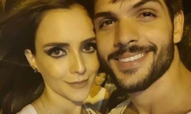 Ana Lúcia Vilela e Lucas, do 'BBB 18' Foto: Reprodução
