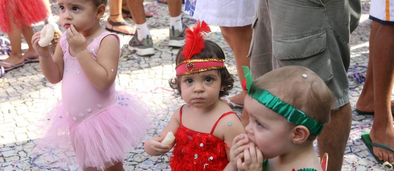 09.02.2008 - Camilla Maia - RI - Bandinha de Ipanema desfila na Praça General Osório em Ipanema Foto: Camilla Maia / Divulgação