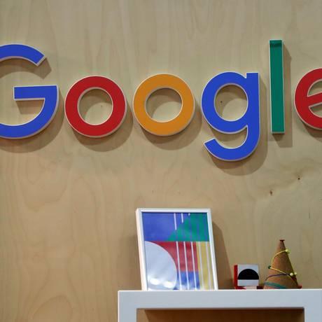 Logotipo do Google Foto: CHARLES PLATIAU / Reuters/7-2-2018