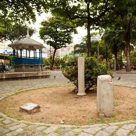 Discórdia. Proposta de mudança de nome do Jardim do Méier foi criticada por moradores nas redes sociais Foto: Bárbara Lopes / Agência O Globo