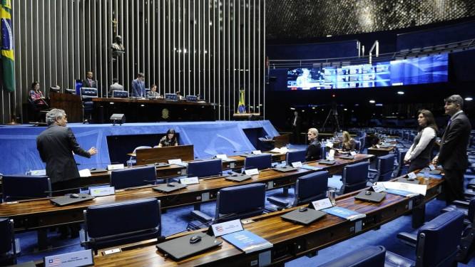 Plenário do Senado Foto: Marcos Oliveira/Agência Senado