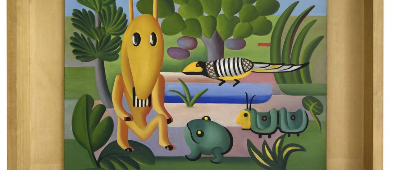 """SC - """"A Cuca"""", óleo sobre tela Foto: Cnap / Ville de Grenoble / Musée de Grenoble J.L. Lacroix / arsila do Amaral Licenciamentos"""