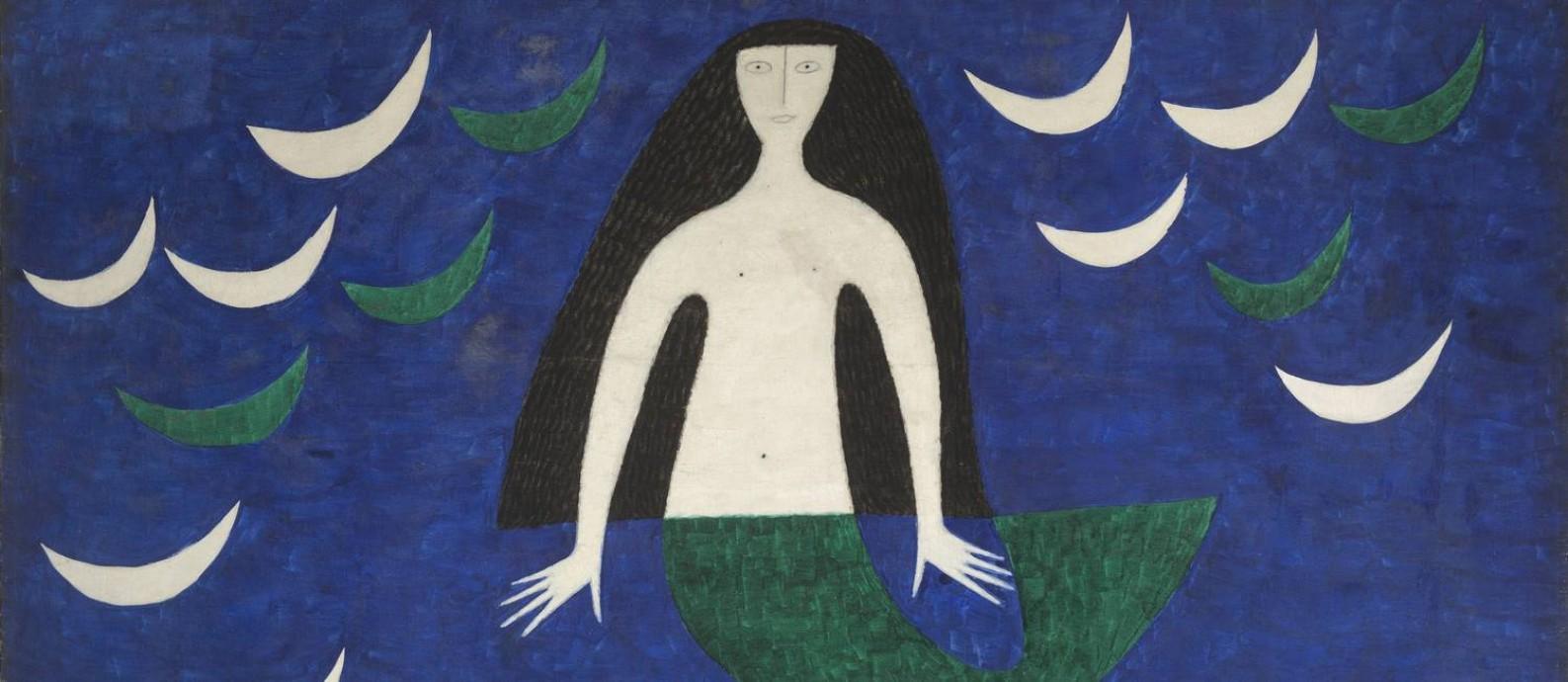 """Obra sem título, de 1962, na mostra """"A poética da cor"""": até 20 de maio Foto: Divulgação"""