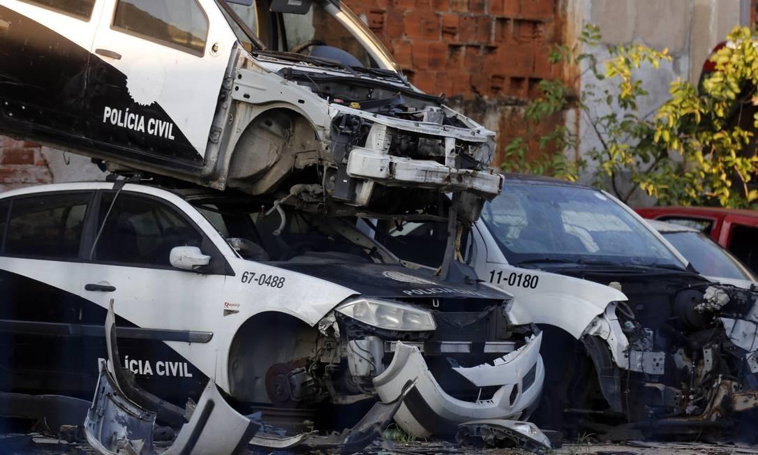 Polícia Civil sofre com falta de manutenção de equipamentos Foto: MARCOS DE PAULA / Agência O Globo