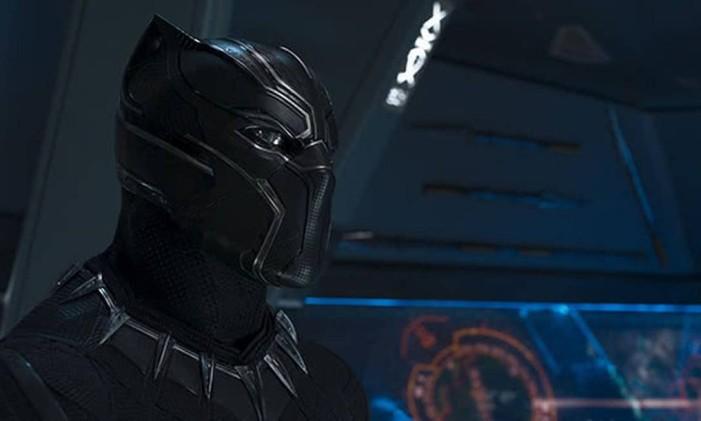 'Pantera Negra', um dos personagens com um dos uniformes mais resistentes dos quadrinhos Foto: Divulgação
