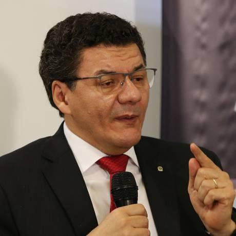 Presidente da Ajufe, Roberto Veloso, defende o pagamento do benefício Foto: Givaldo Barbosa / Agência O Globo