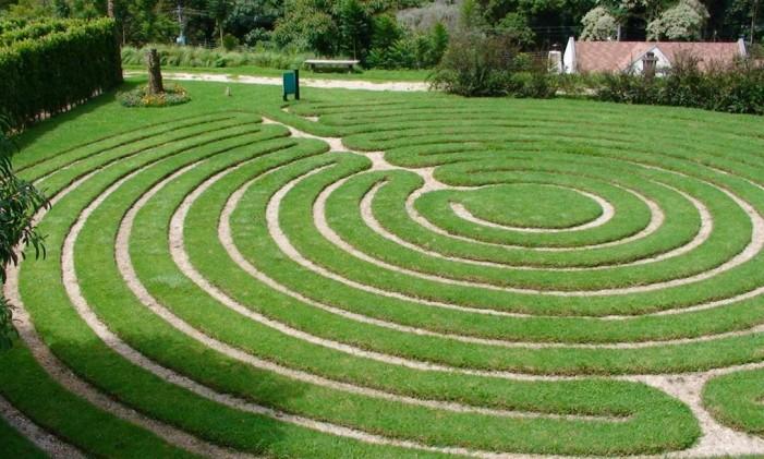 Labirinto de Grama, em Campos do Jordão (SP) Foto: Divulgação