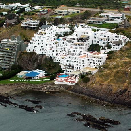 Casapueblo, Punta del Este. Ângulo da foto lembra o formato do mapa do Brasil Foto: Figueredo / El País