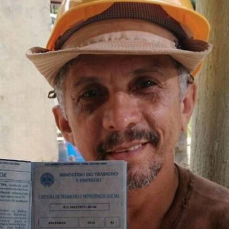 O ator Eduardo Carneiro Foto: Reprodução