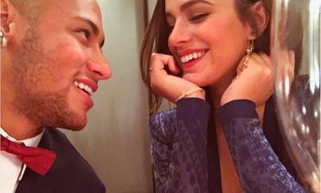 Neymar e Bruna Marquezine Foto: Reprodução