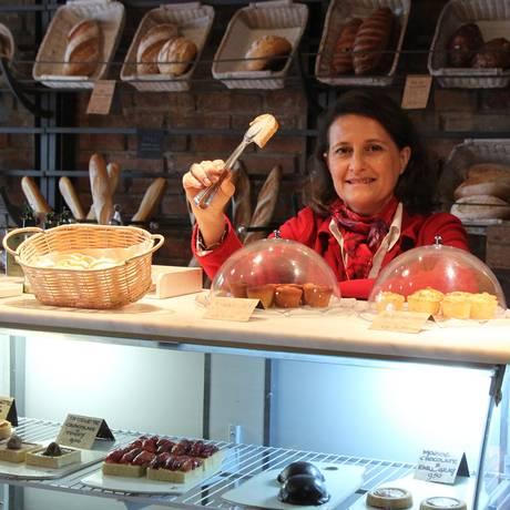 Sophie Deram, especialista da neurociência do comportamento alimentar, que diz que fazer dieta engorda Foto: Marcos Alves / O Globo