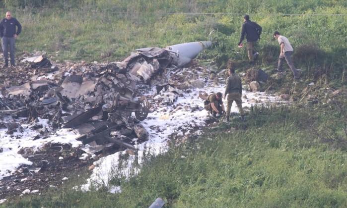 Síria: Avião F16 israelita despenha-se depois de atacar