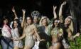 Barbara Sheldon, Kelly Werneck, Kamilla Carvalho, Alex Lion, Paula Lásser, Marcelly Morena e Louise Murelly fazem a festa no carnaval