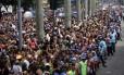 Desfile do Cordao da Bola Preta, pelO Centro do Rio de Janeiro