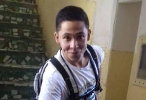 Após ser atacado por criminosos e ser internado, jovem não resistiu Foto: Arquivo pessoal