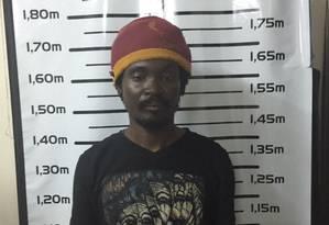 Gordon Fowler foi preso no sábado Foto: Divulgação/Policia Civil