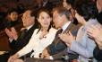 Sorridente. O presidente sul-coreano Moon Jae-in se reuniu quatro vezes com Kim Yo-jong