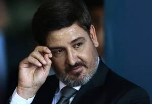 O diretor-geral da Polícia Federal, Fernando Segovia Foto: Jorge William / Agência O Globo/20-11-17